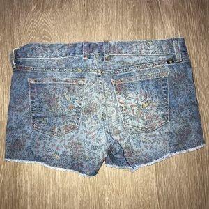 Lucky Brand Shorts - Lucky Brand Denim Shorts